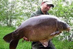 Martin mit 32 Pfund Fisch