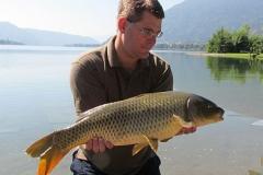 Ossiacher See: 15 Pfund Wildkarpfen für Matthias