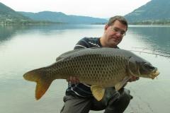 Matthias mit 22er aus dem Ossiacher See: Hart erarbeitet!