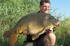 Matthias mit 32 Pfund Spiegler