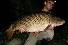 SchwaFlo ein Fisch der mich 2010 schon mal beehrt hatte, nun mit 28.5 Pfund
