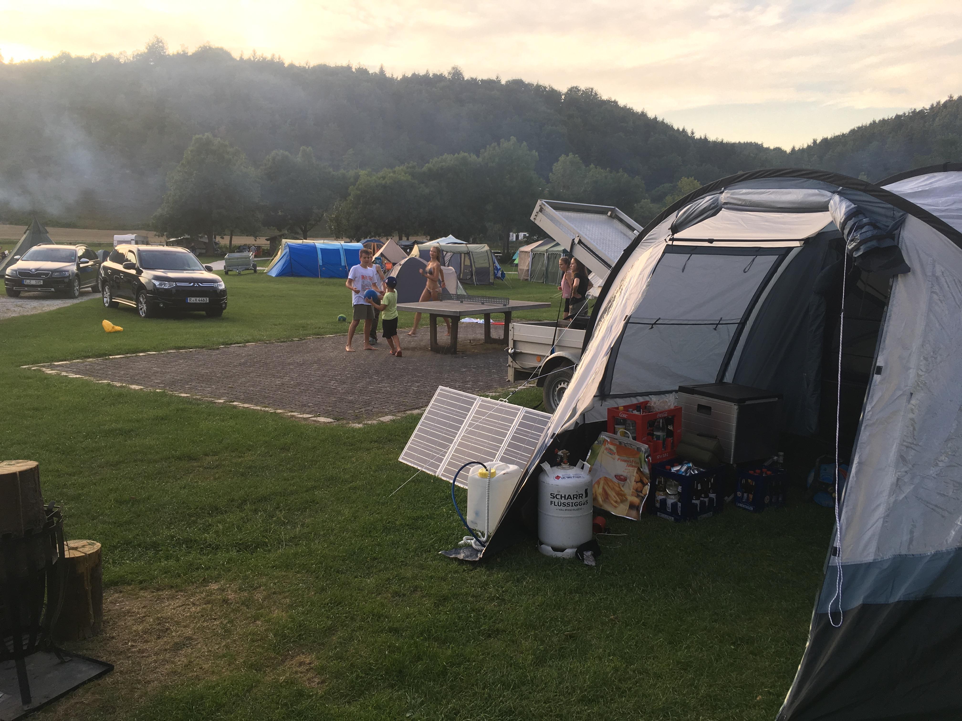 Campingplatz Kallmünz